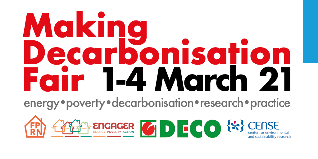 Making Decarbonisation Fair